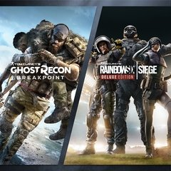 TOM CLANCYS RAINBOW SIX SIEGE + BREAKPOINT PS4 DIGITAL