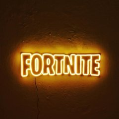 LUZ NEON GAMER FORTNITE