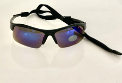Lentes color Azul modelo Atenas Medio Marco UV400 protection con sujetador Regulable Unisex Bicicleta Running Aire Libre