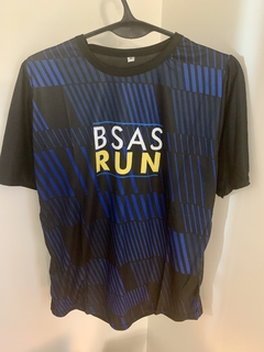 Remera Dri Fit BsAs Run Azul