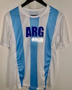 Remera Running Dri Fit Argentina Hombre o Mujer - comprar online