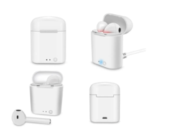 Imagen de Auriculares Bluetooth In Ear Earpods AirPods Android iPhone I7S