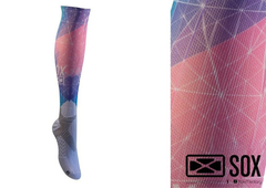 Media de Compresion Graduada Sublimada SOX