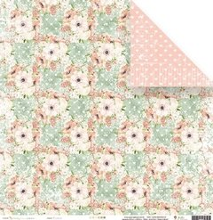 Papel - Florescer - Shabby Dreams - Juju Scrapbook