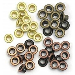 Ilhos - Eyelets & Washer Standard Warm Metal - We R Memory Keepers
