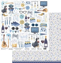 Papel - My Boys - My blue world - My Memories