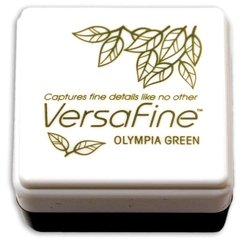 ALMOHADILLA DE TINTA VERSAFINE COLOR OLYMPIA GREEN