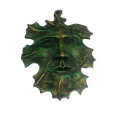 Placa Green Man Parede