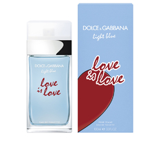 D&G LIGHT BLUE LOVE IS LOVE POUR FEMME EDT X100ML.