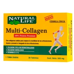 NATURAL LIFE MULTI-COLLAGEN X30