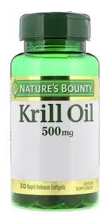 Nature's Bounty Krill oil 500 mg x 30 comp