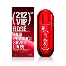 CH 212 vip rose red x 80 ml (EDECION LIMITADA )