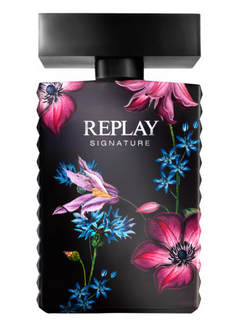 REPLAY SIGNATURE EDP FOR HER X100ML.