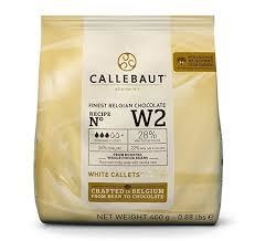 Chocolate BLANCO W2 20% x 400gr - Callebaut en internet