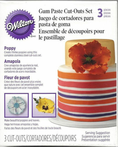 Set Cortante acero inoxidable amapola - WILTON