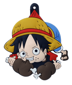 Llavero de Silicona - Luffy One Piece