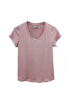 Remera Basic escote v