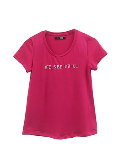 Remera Life is Beautiful en internet