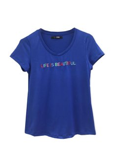 Remera Life is Beautiful - Soana