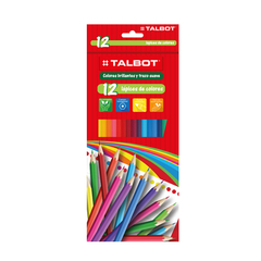 LAPICES TALBOT COLOR LARGO x12