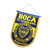 Boca pennant a sentiment with official shield
