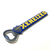 "Rubber bottle opener ""Xeneizes"" with shield - online store"