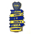 Boca Juniors Magnet - Claw and Heart Game - SoloBoca