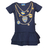 Baby dress with Boca Juniors prints - buy online