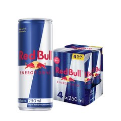 Red Bull Regular 4pack 250ml - comprar online