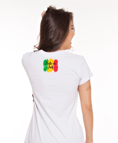 Baby Look Branca - Tribo de Jah Colors na internet