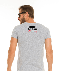 Camiseta Long Cinza - Disco na internet