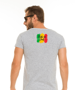 Camiseta Long Cinza - Tribo de Jah Colors na internet