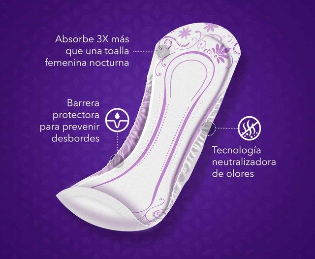 PLENITUD FEMME TOALLA NOCTURNA - Casa Juliana
