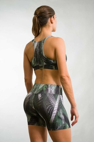 Bermuda Fitness Feminina Estampada VRD Up