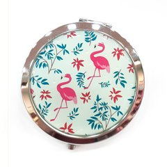 Espejo doble con aumento - Flamingo Tropical