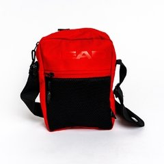 Bandolera Head con bolsillo red en internet