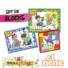 Set de Blocks x 3. El Nene. #Estrada