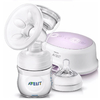 Extractor de Leche Avent Philips Natural con mamadera 125 ml.