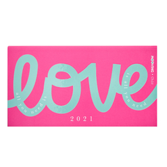 AGENDA MOOVING POCKET CHIC All you Need is Love