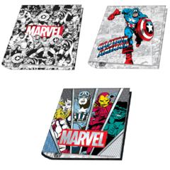 CARPETA MOOVING ESCOLAR MARVEL