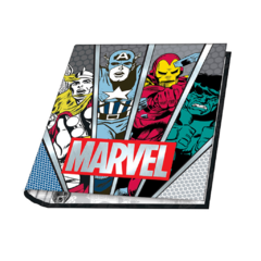 CARPETA MOOVING ESCOLAR MARVEL - comprar online