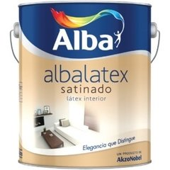 Albalatex Interior Satinado Blanco X 1 Lts