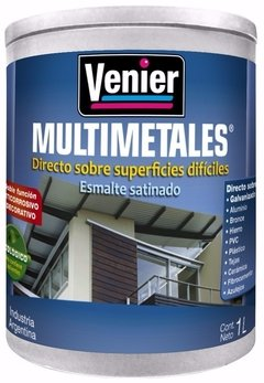 Pintura Multimetales Venier Colores X 0,45 Lt