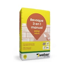 Revoque Ext / Int Manual 3 En 1 Weber Ceresita Mix E X 30 Kg