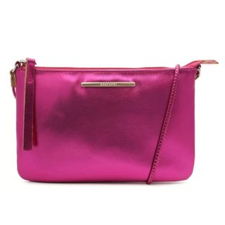 Crossbody Rosa Metalizado Slim
