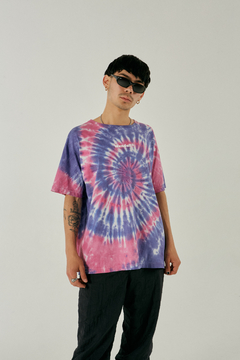 Remera oversized Flower - comprar online
