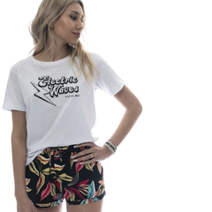 Electric Tee Blanco