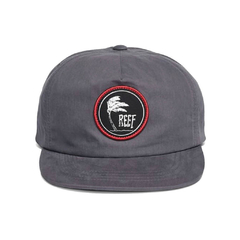 Reef Palm Hat Grey