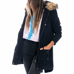 Nicole Long Jacket Black