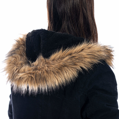 Nicole Long Jacket Black - Reef | HOTSALE